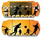 Factory Outlet Twilight Soccer Game Decorative Protector Skin Decal Sticker for Sony Playstation PSP 1000 Portable System