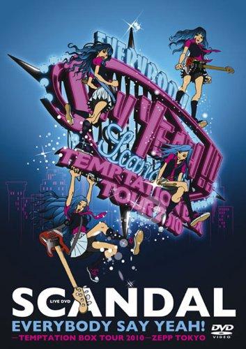 EVERYBODY SAY YEAH!-TEMPTATION BOX TOUR 2010-ZEPP TOKYO [DVD]