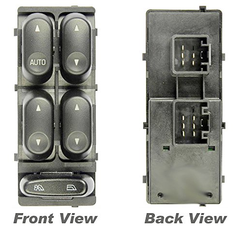 Apdty 012425 master power window switch front left 4 door for 2002 ford explorer master window switch