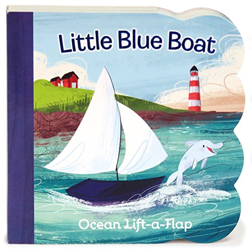 Little Blue Boat: Lift-a-Flap Board Book (Babies Love)