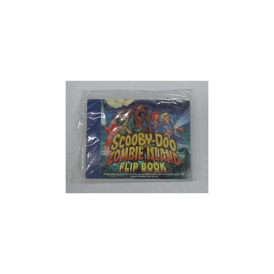 b17 SCOOBY DOO KIDS MEAL TOY FLIPBOOK MIB
