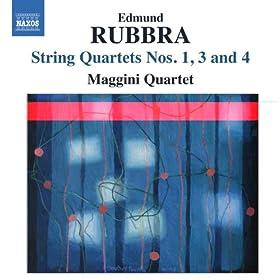 Rubbra: String Quartets Nos. 1, 3 & 4