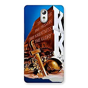 Delighted King Power Back Case Cover for Lenovo Vibe P1M