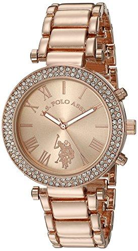us-polo-assn-womens-quartz-rose-gold-toned-dress-watch-model-usc40170