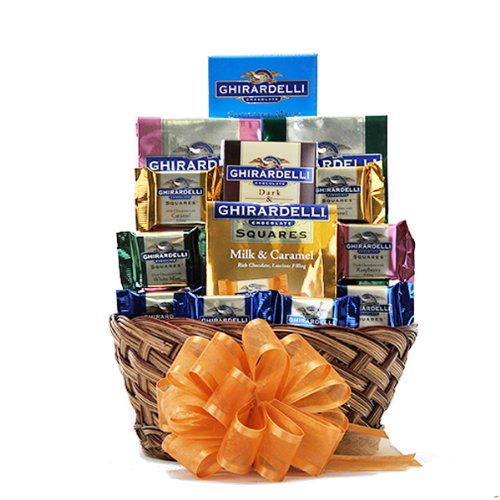 Holiday Ghirardelli Chocolate Gift Basket
