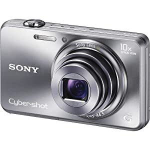 Sony Cyber-shot DSC-WX150 18.2 MP Exmor R CMOS Digital Camera with 10x Optical Zoom and 3.0-inch LCD (Silver) (2012 Model)