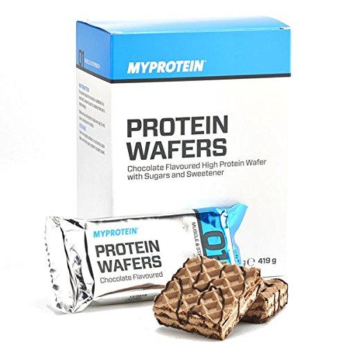 Protein Wafer - Erdbeere - 10x 40g - Myprotein (Vanille)