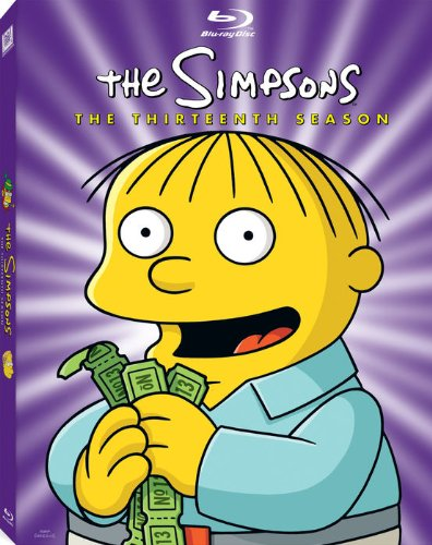 Cover art for  The Simpsons: The Thirteenth Season [Blu-ray]