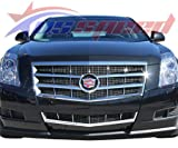 2008-2011 Cadillac CTS Chrome Grille Overlay Kit
