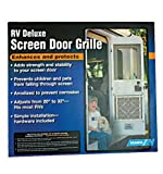 Camco 43991 RV Aluminum Screen Door Deluxe Grille