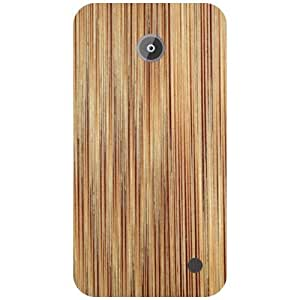 Nokia Lumia 630 Back Cover - Light Brown Designer Cases