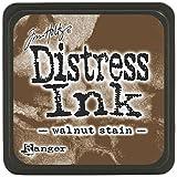 Ranger Tim Holtz Distress Ink Pads, Mini, Walnut Stain (Color: Walnut Stain, Tamaño: Mini)