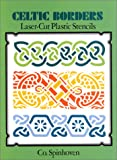 img - for Celtic Borders Laser-Cut Plastic Stencils book / textbook / text book