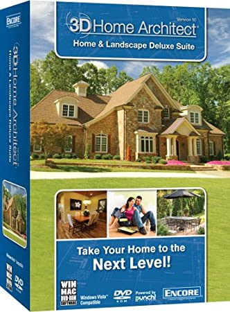 3D Home Architect Home & Landscape Deluxe Suite v10 SB