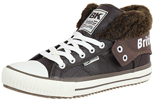 British Knights ROCO BK gefüttert Winterschuhe Damen Sneaker B32-3750-04 braun , Schuhgröße:EUR 40