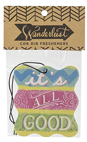 About Face Designs Wanderlust Air Freshener, It's All Good (Make It Fresh Make It Delicious compare prices)