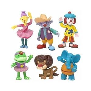 Amazon.com: Disney Jojo's Circus - 6 Figure Play-set: Toys & Games