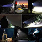 GRDE™ 3 Cree XM-L T6 LED 4000 Lumens Headlamp Headlight for Hiking Camping Outdoor Riding Night Fishing Night Riding