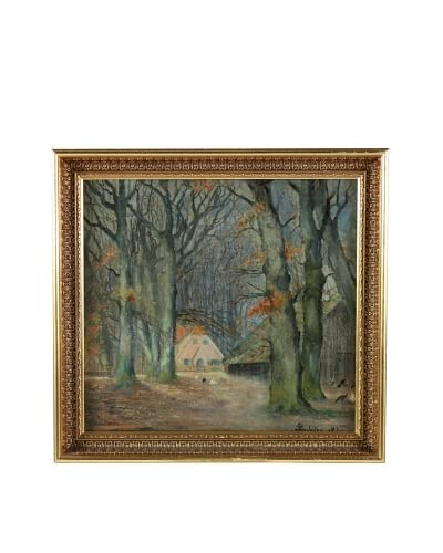 Cottage, Impression Framed Artwork As You See