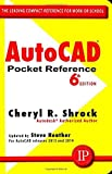 img - for AutoCAD Pocket Reference 6th edition by Shrock, Cheryl (2013) Paperback book / textbook / text book