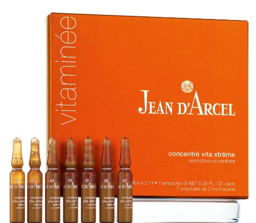 Jean D'Arcel Vitaminee Restorative Concentrate, 7 Ampoules, 0.06 Fl. Oz. Each