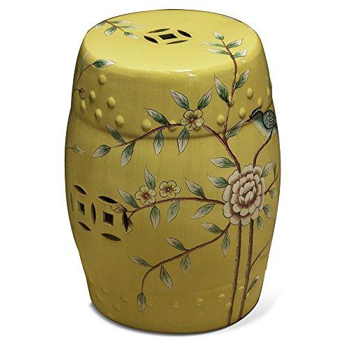 Awardpedia 18 Quot Ceramic Garden Stool Yellow