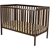 Dream On Me Synergy 5 in 1 Convertible Crib, Espresso