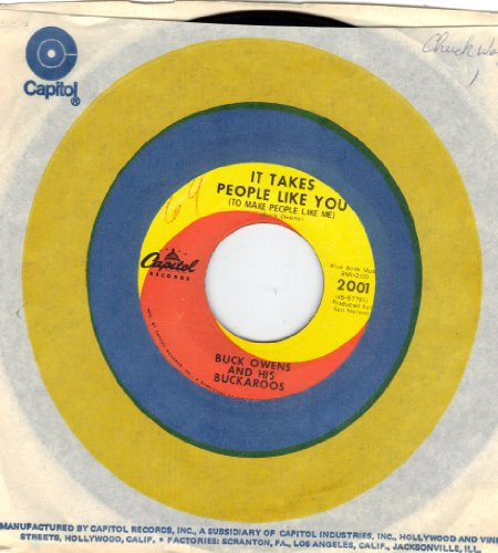 OWENS, Buck/It Takes People Like You/45rpm Record