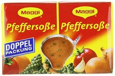 Maggi Delikatess Doppelpack Pfeffersoße, 18er Pack (18 x 500 ml Karton) von Maggi bei Gewürze Shop