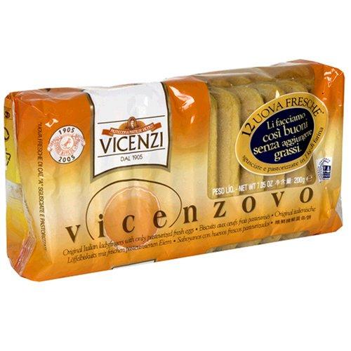 Vicenzi Vicenzovo Ladyfingers, 7-Ounces (Pack of 12)