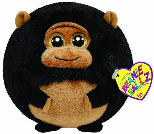 """Ty Beanie Ballz Tank Gorilla 5"""" Plush"""