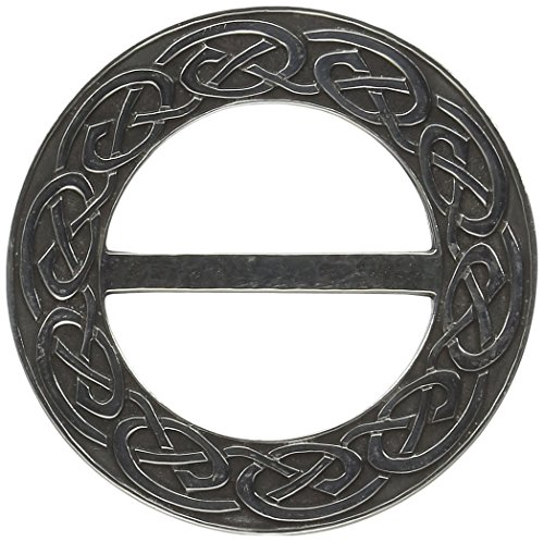 Ldycrow Celtic Pewter Scarf Ring