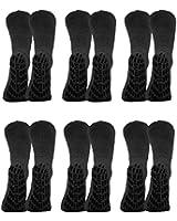 Non Skid Socks - Hospital Socks - 6 Pack