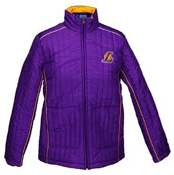 Los Angeles Lakers NBA Ladies Players Zip Up Jacket, Purple by G-III Sports