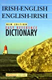 img - for Easy Reference Irish-English English-Irish Dictionary book / textbook / text book