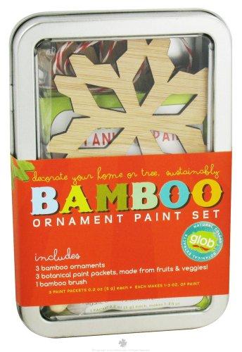 GLOB Bamboo Ornament Paint Set