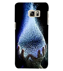 ColourCraft Creative Image Design Back Case Cover for SAMSUNG GALAXY S6 EDGE PLUS