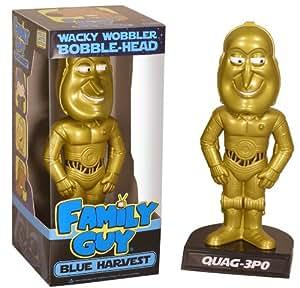 """Family Guy - 6"""" Star Wars Bobble Heads Quag-3PO"""