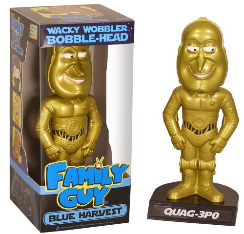 Quag-3PO Bobble-head Blue Harvest - 1