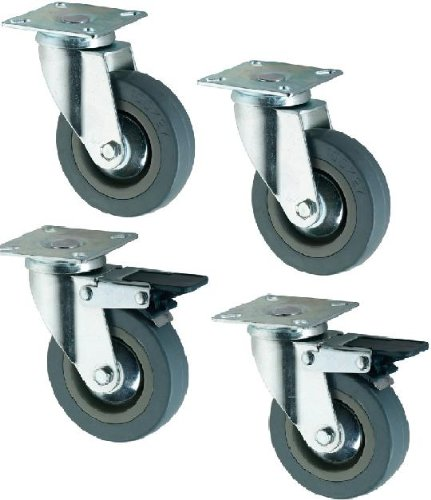 4-giratorio-resistente-goma-rueda-caster-ruedas-50-mm-ruedas-coldene
