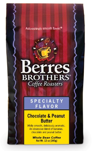 Berres Brothers Chocolate And Peanut Butter Whole Bean Coffee 12 Oz.