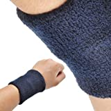 GOGO™ Thick Solid Color Wristband / Sweatband (Price for SINGLE PIECE)