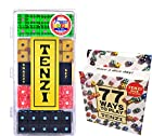 Tenzi Dice Game - Snazzy Set Variety Pack (Glitter, Pearl, Marble, Black), with 77 Ways to Play Tenzi Instruction Pack