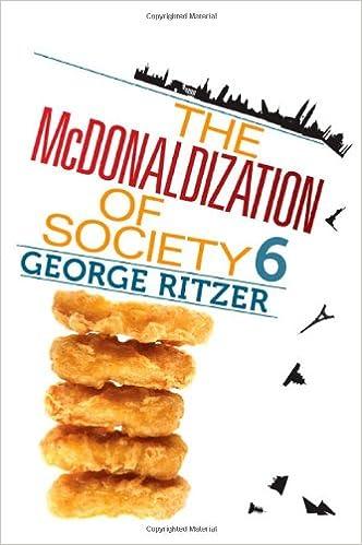 the mc donaldization of society essay