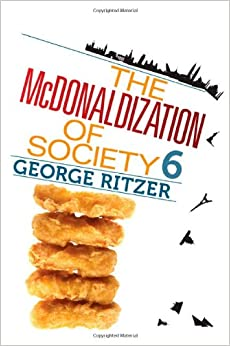 sociology mcdonaldization thesis