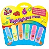 Artbox 6 scented mini highlighter pens