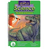 "LeapPad: Leap 3 Science - ""The World of Dinosaurs"" Interactive Book and Cartridge ~ LeapFrog Enterprises"