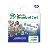 LeapFrog App Center Download Card (works with all LeapPad Tablets, LeapsterGS, Leapster Explorer and LeapReader)