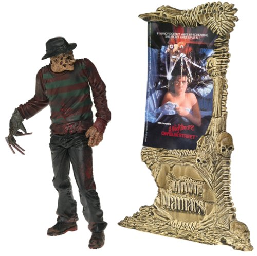 Picture of McFarlane Movie Maniacs 4: Freddy Krueger A Nightmare On Elm Street Action Figure (B00005NFT1) (McFarlane Action Figures)
