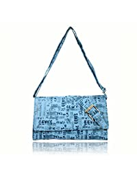 Hydes Youth Synthetic Leather Sling Bag - B01B4CUM9G
